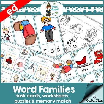 Word Families - ed