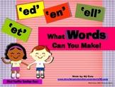 Word Families (-et,-ed,-en,-ell)