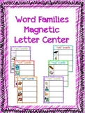 Word Families for Magnetic Letters