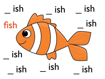 Word Families for beginning readers