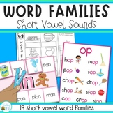 Word Families - Short Vowel Sounds