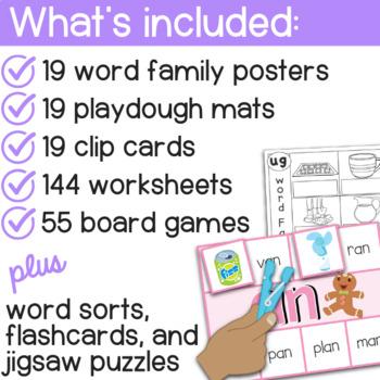 Word Families - Short Vowel Sounds