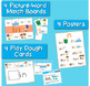 Word Families Word Work for Short I - charts, playdough ma