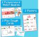 Word Families Word Work for Short U - charts, playdough ma
