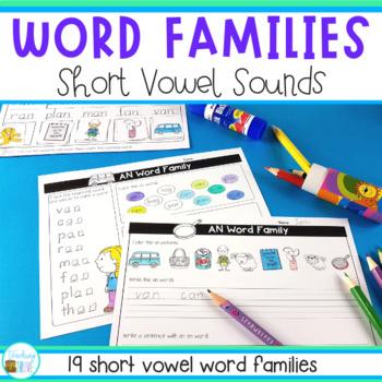 CVC Word Family Stations
