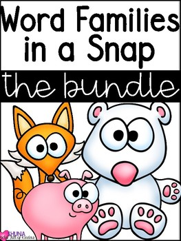 Word Families in a Snap {Growing Bundle}