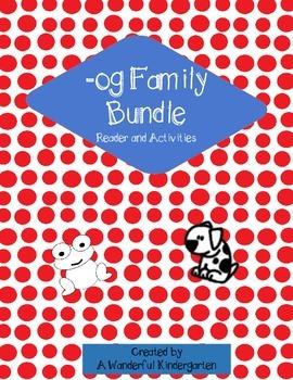 Word Families, -og family