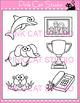 Word Families: ph Digraphs Clip Art - Personal or Commercial Use