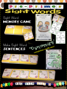 Word Families short i- Decodable Reader, Sight Words and Phonics CVC Activities