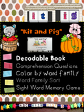 Word Families short i- Decodable Reader, Sight Words and P