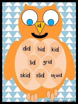 Word Families with Owls