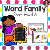"""Word Family """"A"""" Boom Cards"""