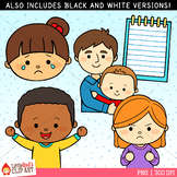 Word Family AD Clip Art