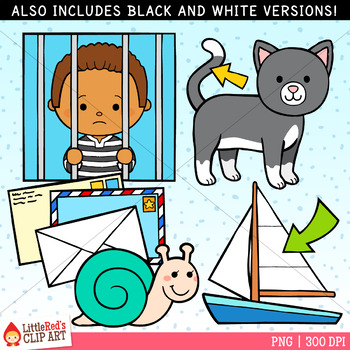 Word Family AIL Clip Art