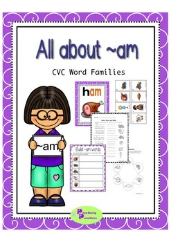 Word Family - am