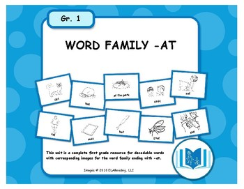 Word Family -AT Resources