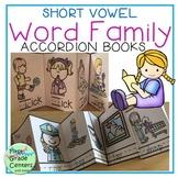 Short Vowels Word Families Accordion Books