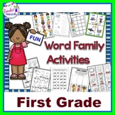 Word Families for First Grade | Word Sorts and Activities