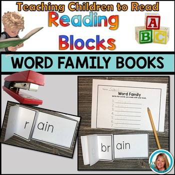 Word Family Activities Books