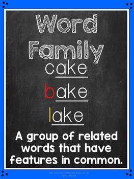 Emergent Reader Word Family Books