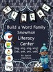 Word Family Activities For the Whole Year Bundle Orton-Gillingham