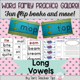 Word Family Activities Galore {Long Vowels}