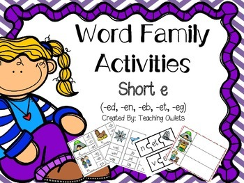 Short e Activities (en,eb,eg,et,ed)
