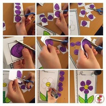 Word Work Activities-Word Families Worksheets Worksheets{Flower}