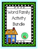 Word Family Activity Bundle
