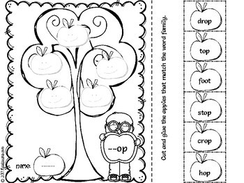Word Families Worksheets-Free