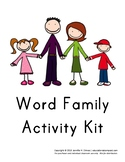 Word Family Activity Kit