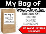 Word Family Activity: My Bag of Word Families