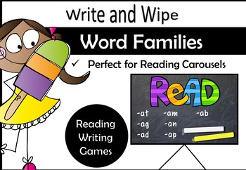Word Family Activity Pack 1