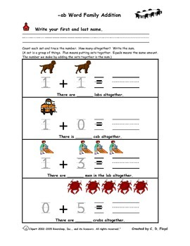 Addition and Making Numbers