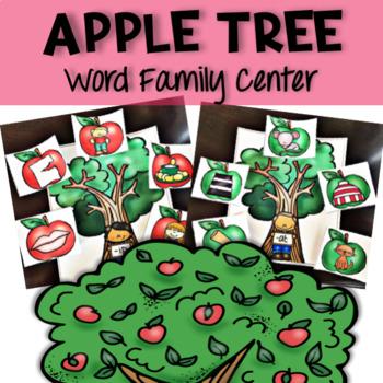 Apples ! Apple Tree Word Family Center