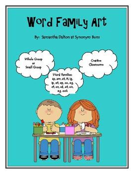 Word Family Art