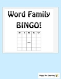 Word Family BINGO - Full Pack