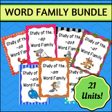 Word Family BUNDLE #1