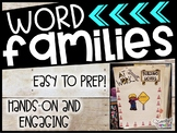 Word Family BUNDLE Anchor Chart, Picture Cards, Circle Maps, & Recording Sheets!