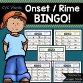 Word Family Bingo (CVC Words)