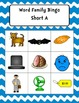 Word Family Bingo Short A