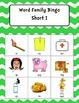 Word Family Bingo Short I