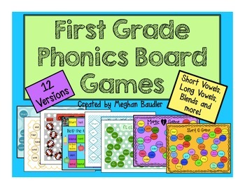 Phonics Board Game Bundle!