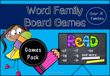 Word Family Board Games