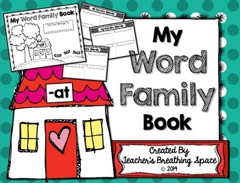 Word Family Book --- Writing and Illustrating Words From 6