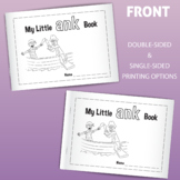 My Little ANK Family Book: Printable for Early Readers