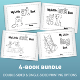 Word Family Book Bundle! Four Printable Books for Beginnin