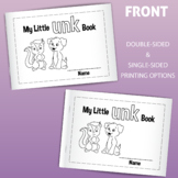 My Little UNK Family Book: Printable for Early Readers