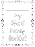 Word Family Booklet