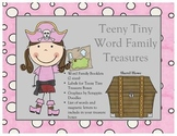 Word Family Booklet (Pirate)